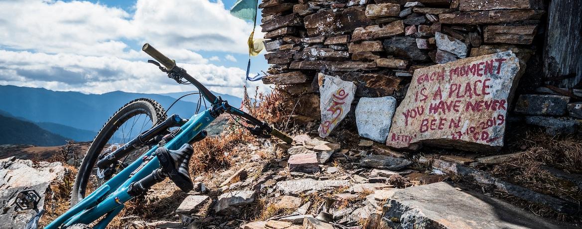 Favourite moments of adventure, mountain bike Bhutan