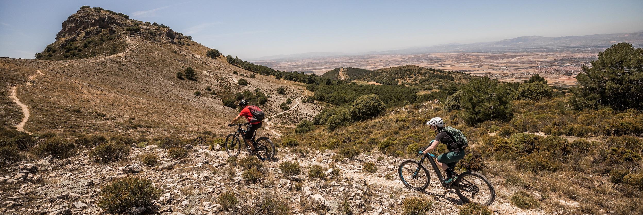 Mountain bike tours worldwide, E-MTB tour Spain